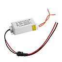 0.3a 4-7w dc 10-25 v a ac 85-265 v controlador de fuente de alimentación actual constante externa para panel de luz led