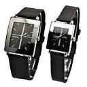 Couples Fashion Style Silicone Band Quartz Wrist Watch(Assorted Colors)