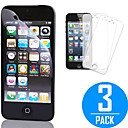 DSB Premium High Penetration Touchscreen Accuracy Screen Protector with Cleaning Microfiber Cloth for iPhone 5/5S/5C (3 Pack)