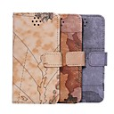 HHMM Map Pattern PU leather for iPhone 6 Case(Assorted Colors)