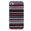 Deep Folk Style Pattern TPU Material Soft Back Cover Case for iPhone 4/4S