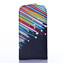Meteor Pattern PU Leather Flip-open Full Body Case for Samsung Galaxy Ace 3 S7270 S7272 S7275