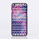 Purple National Wind Pattern Plastic Hard Cover for iPhone 6 Plus