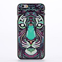 Coloured Drawing Tiger Embossment Pattern  PC Hard Case for iPhone 6