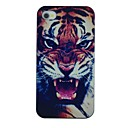 Roared Tiger Pattern PC Hard Back Cover Case for iPhone 4/4S