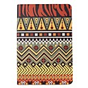 Maya Symbol Silk Pattern Leather Full Body Case with Stand for Apple iPad Air