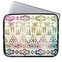 Elonbo Bohemian Geometry Stripe 13 Laptop Neoprene Protective Sleeve Case for Macbook Pro/Air Dell HP Acer