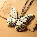 Love Is Delicate Restoring Ancient Ways You Drip Hollow Out Big Butterfly Sweater Chain