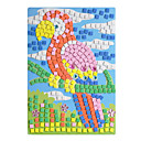 EVA Mosaic Crystal 3D Stickers Children Hand DIY Puzzle Parrot Toy