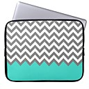 Elonbo The Wave Pattern 13 Laptop Neoprene Protective Sleeve Case for Macbook Pro/Air Dell HP Acer