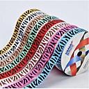08.03 pulgadas de la cinta-10 impresión de cinta de costilla patrón de cebra pradera africana costumbre patio cada bolsa