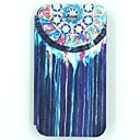 Folk Style Splash-ink Painting Pattern PU Leather Full Body Case for iPhone 4/4S