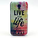 Life Pattern Hard Plastic Cases for Samsung Galaxy S4 mini I9190