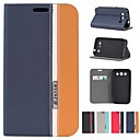 Assorted Colors PU Leather Full Body Case with Stand and Card Slot for Samsung Galaxy Win I8552 (Assorted Colors)