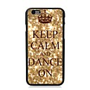 Elonbo Keep Calm and Dance On Plastic Hard Back Cover for iPhone 6 Plus