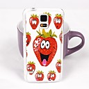 Lovely Strawberry Pattern PC Back Case for Samsung Galaxy Note 4