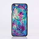 Purple Nets Pattern Plastic Hard Cover for iPhone 6 Plus