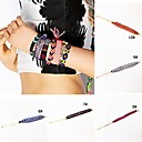 New Fashion Hand-woven Bohemia National Bracelet NO:6-10(1pcs,Assorted Colors)