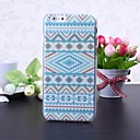 National Style Abstract Geometric Pattern Litchi Texture Plastic Hard Case for iPhone 6