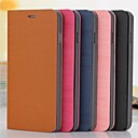 Woodiness Grain Pattern PU Leather Full Body Case with Stand and Card Slot for iPhone6 (Assorted Color)