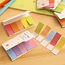 Gradient Rainbow Color Double Sides Scrapbooking Self-Stick Notes