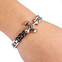 Fashion Claw Shape  Mens Silver Alloy Tennis Bracelet(1 Pc)