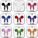 Earphone Headphone Earbuds Headset Remote Mic for apple iPhone 4 4S 5 5S 5C iPhone6 IPod and others Random color