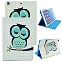 Elonbo Cute Owl Design Leather Stand Full Body Case Cover for iPad Air iPad 5