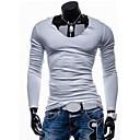 Mens Casual Fashion Long Sleeve  T-Shirt