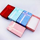 Coway 852.5 Bowknot Is Rectangular Jewelry Box Gift Boxes(Random Color)