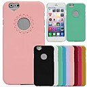 DSD Lovely Hollow Out Heart And Flower Cover for iPhone 6 (Assorted Colors)