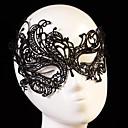 Fashion Swan Pattern Lace Party Mask