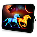 HUADO 15 Fluorescence Horse Laptop Sleeve Case for MacBook Air Pro/HP/DELL/Sony/Toshiba/Asus/Acer