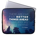 Elonbo Better Things Ahead 13 Laptop Neoprene Protective Sleeve Case for Macbook Pro/Air Dell HP Acer