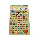 Cartoon Heart Series Stereo Bubble DIY Scrapbook Sticker