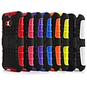 2 in 1 Dual-Color Detachable PCTPU Hybrid Case with Kickstand for HTC One M8(Assorted Colors)