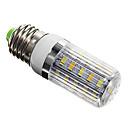 E27 5W 36xSMD 5730 350LM 4100-4600K Natural White Light LED Corn Bulbs Stripe Cover(AC 220-240)