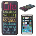 Color the Letter Pattern Hard Cover for iPhone 6