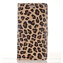Wallet Style Leopard Print PU Leather Full Body Case for  Sony Xperia Z3