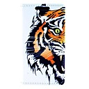 The Fierce Tiger Pattern PU Leather Full Body Case with Card for Sony Xperia M2 S50h