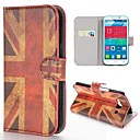 Retro UK Flag Pattern Wallet Style Stand PC Leather Case for Alcatel One Touch POP C9 Dual 7047D