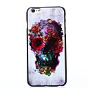 Skull with Fancy Eyes Pattern Plastic Hard Cover for iPhone 6 Plus