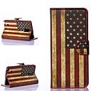 America Pattern PU Leather Full Body Cover for Samsung Galaxy Note 4
