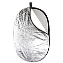 JINBEI 100150cm 5-in-1 Collapsible Photograhpic Gold and Silver Reflector Panel