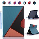 Fashion Colours Design PU Leather Full Body Case and Stylus for Samsung Galaxy Tab S 10.5 T800 (Assorted Colors)