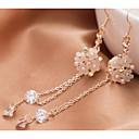 Love Is You Exquisite Clovers Zircon Earrings