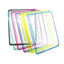 XUNDD Solid Color TPU Transparent Set of Cases Non-Slip Soft Case for iPad 2/3/4
