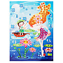 EVA Mosaic Crystal 3D Stickers Children Hand DIY Puzzle Visional Girl Toy