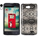 Snake Pattern Leather Coated Hard Case for LG L90(Assorted Colors)