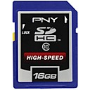 PNY 16GB Class 10 High-speed Professional SDHC Memory Card